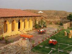 Setting of Ramathra Fort, Rajasthan, India