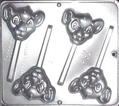 Bought already  Lion King Baby Lion Lollipop Chocolate Candy Mold 3353 by CandyMoldsNMore on Etsy https://www.etsy.com/transaction/1050172620