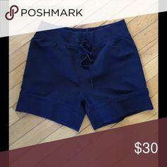 GapFit Navy Shorts Navy shorts, great fabric, worn once if that GAP Shorts