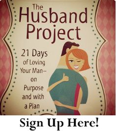 The Husband Project...think this is something I should read!