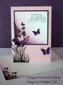 Stampinantics: BUTTERFLY WISHES - Stamping on Multiple Layers