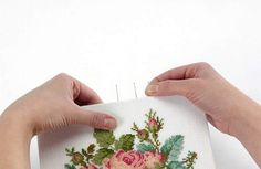 How to frame your stitching yourself