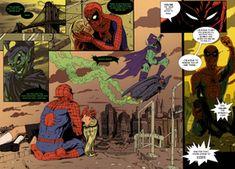Spider-man Death of Gwen Stacy by pikapikaichigo