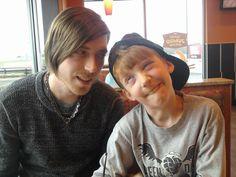 Justin and Eli, haha.