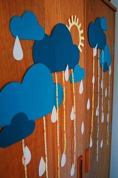 S ark classroom decor cloud themed classroom noah vbs 2 Vbs Crafts, Bible Crafts, Fall Crafts, Noahs Ark Craft, Noahs Ark Theme, Vbs Themes, Classroom Decor Themes, Art For Kids, Crafts For Kids