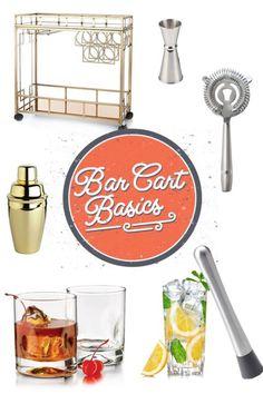 Bar Cart Basics   eBay