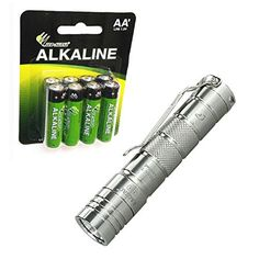 Eagletac D25A Ti Clicky XPL Hi Flashlight Limited Edition 2017 Version 200 Lumens w8x Free EcoSensa AA Batteries *** More info could be found at the image url.(This is an Amazon affiliate link and I receive a commission for the sales)