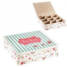 Caixa de Chá - Cupcake 24x24x7