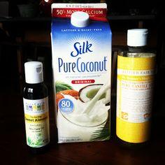 Home Made Is Easy: Coconut Milk Shampoo Recipe