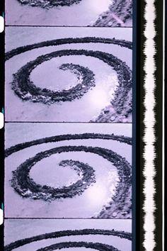 Robert Smithson: Spiral Jetty, 1970. Film.