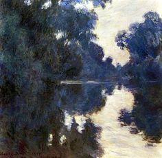 bofransson:  Claude Monet Morning on the Seine 1896