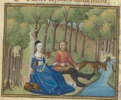 Le Roman de la Rose, par Guillaume de Lorris et Jean de Meun. Date d'édition : 1401-1500 Type : manuscrit Langue : Français