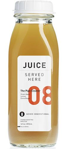 Clean juice #label #design | 08 // the pipe cleaner.