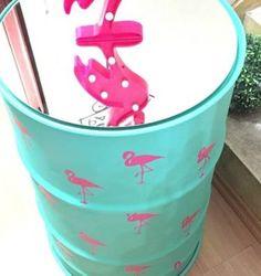 tonel decorativo flamingo - outros flamingo
