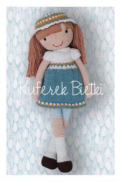 Stina- lalka na szydełku/ Gehäkelte Puppe (41 cm)