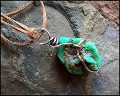 Chrysoprase Necklace, Symbol of prosperity, Symbol of luck, Wiccan Necklace, Chrysoprase pendant, Symbol of Love, Natural Stone Necklace, by WitchTools on Etsy