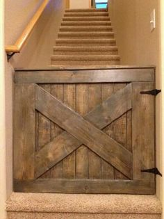 For most it'd be a nice baby gate, but in my house it'd be a great doggie gate