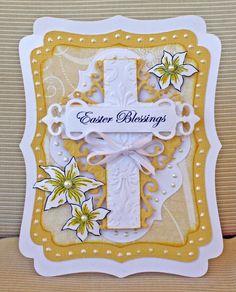 """Easter Blessings"" Card *Heartfelt Creations* - Scrapbook.com"