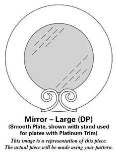 Lenox China Opal Innocence Stripe Mirror-Large (DP), Fine China Dinnerware  #Lenox #Kitchen
