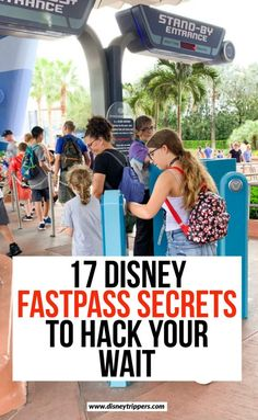 disney travel tip 17 Disney Fastpass Secrets To Hack Your Wait Walt Disney World Vacations, Disney Travel, Travel Usa, Travel Tips, Disney Secrets, Disney World Tips And Tricks, Disneyland Secrets, Disneyland Park, Travel With Kids