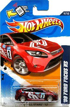2009 ford focus rs hot wheels 2012 all stars super secret treasure hunt - Hot Wheels Cars 2012