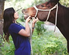 """""""Hurry!  Is there anything between my teeth?!  The photographer's looking...I think she wants a close up.""""  #outtake #keepingitanyway #horsehumor #lovewhenthishappens #LOL #senior"""