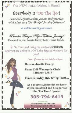 Fall Invite Template