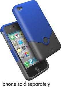 iFrogz iPhone 4S 4 Luxe Shell Case Blue Black Original Cover AT Sprint Verizon. Really Cool!