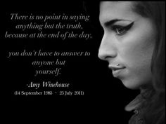 Amy Winehouse Quotes. QuotesGram by @quotesgram
