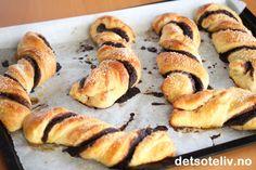Verdens beste sjokoladeruller (Chocolate Twists) | Det søte liv Twists, Muffin, Chocolate, Breakfast, Food, Chunky Twists, Morning Coffee, Muffins, Meal