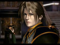 Squall Leonhart from FF VIII