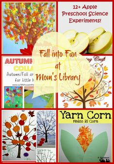 Fall into Fall Fun with activities, arts & crafts!
