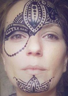 #rostro #maquillaje #artístico #tatoo #tatuaje