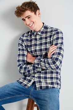 d7077fe7fd0 SALCOMBE LW FLANNEL PLAID SHIRT Plaid Flannel