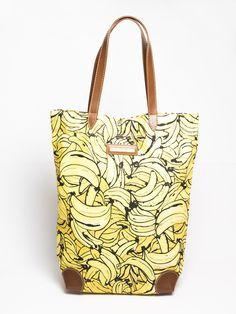 Bolsa de tecido estampa banana                                                                                                                                                                                 Mais