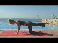 Ejercicios De Pilates Para Adelgazar  - Trabajo Sobre La Estera [Parte 1]