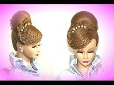 """High Bun """"Basket Braid"""" Hairstyle Tutorial - Dance Comp Review"""