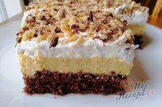 Příprava receptu Bezkonkurenční krémový MARGOT zákusek, krok 3 Hungarian Desserts, Izu, Vanilla Cake, Tiramisu, Cheesecake, Ethnic Recipes, Sweet, Food, Candy