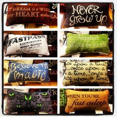 Disney pillows!