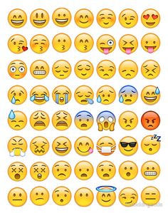 This is a pin of all my favorite FACE emojis Ios Emoji, Stickers Emojis, Cute Stickers, Emoji Stickers Iphone, Iphone 7, Emoji List, Emoji Drawings, Unicorn Pictures, Cute Emoji