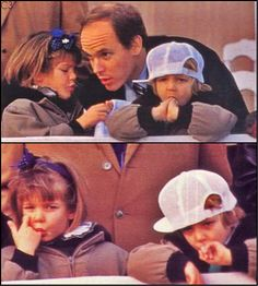 The Casiraghi Trio in the early 90s with Uncle Albert