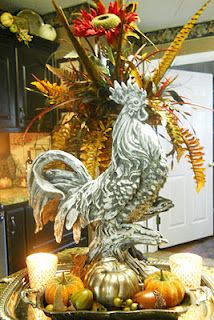 This would look beautiful with my other rooster decor in my kitchen!
