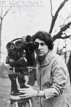 """Margot Benacerraf, cineasta. Primera mujer venezolana en grabar una película, """"Araya"""". (ARCHIVO EL NACIONAL)"""