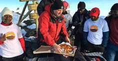 Pizza Hut summits Kilimanjaro to make a special delivery.