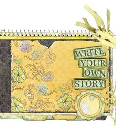 Upcycle a spiral notebook with some cute paper from @DCWV Inc.