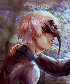 Kaneki and Hide Sad Anime, Anime Art, Hide And Kaneki, Hide Tokyo Ghoul, Tokyo Ghoul Quotes, Youtube Drawing, Anime Merchandise, Anime Costumes, Weird Creatures