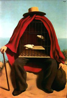 Surrealism: Rene Magritte-The-Therapist 🔻🔸🔹René Magritte ( 1898 - 1967 )… Max Ernst, Art Conceptual, Surreal Art, Salvador Dali, Rene Magritte Kunst, Magritte Paintings, Dali Paintings, Indian Paintings, Giacometti