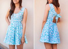 My first sewing machine: Dress with animal print Diy Clothing, Sewing Clothes, Clothing Patterns, Fashion Sewing, Diy Fashion, Diy Dress, Dress Outfits, Casual Dresses For Women, Clothes For Women