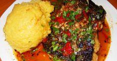Nu e prima oară când fac saramură, da'i prima oară când îmi iese într-un fel în care să vă pot povesti și vouă! Secretul constă în condimentele folosite. Nu-i mare inginerie, dar este tare bună! Dincolo de ingrediente și tehnici de preparare, e musai s-aveți măcar un pește, dacă nu 2-3 mai mici. Si Romanian Food, Mashed Potatoes, Ethnic Recipes, Recipies, Whipped Potatoes, Smash Potatoes