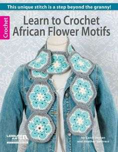 Maggie's Crochet · Learn to Crochet African Flower Motifs
